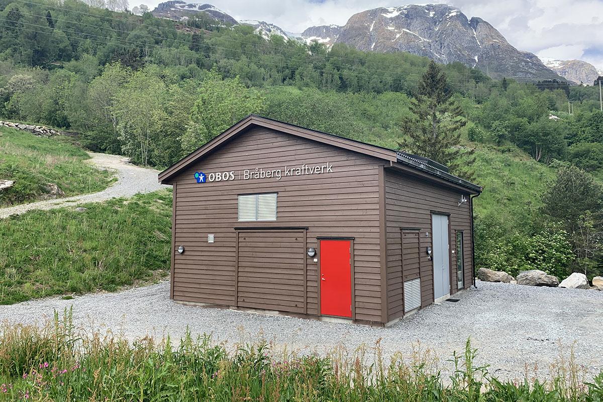 Bråberg vannkraftverk