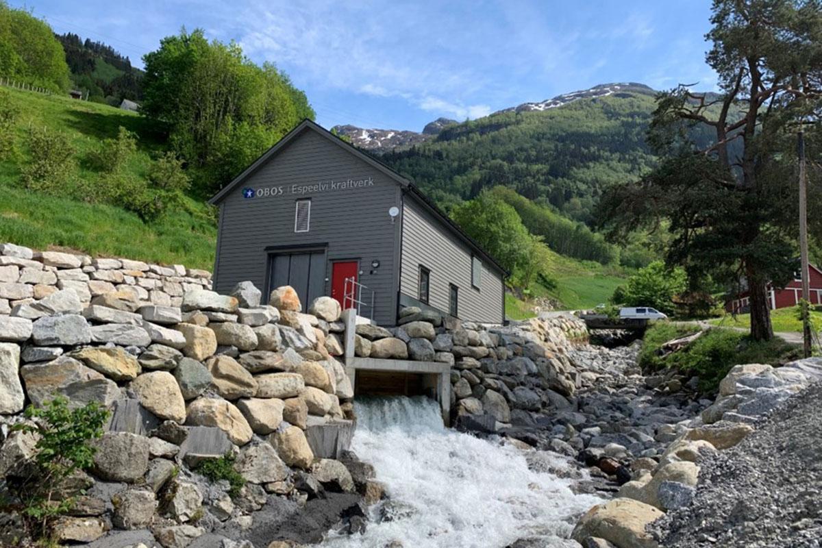 Espeelvi vannkraftverk