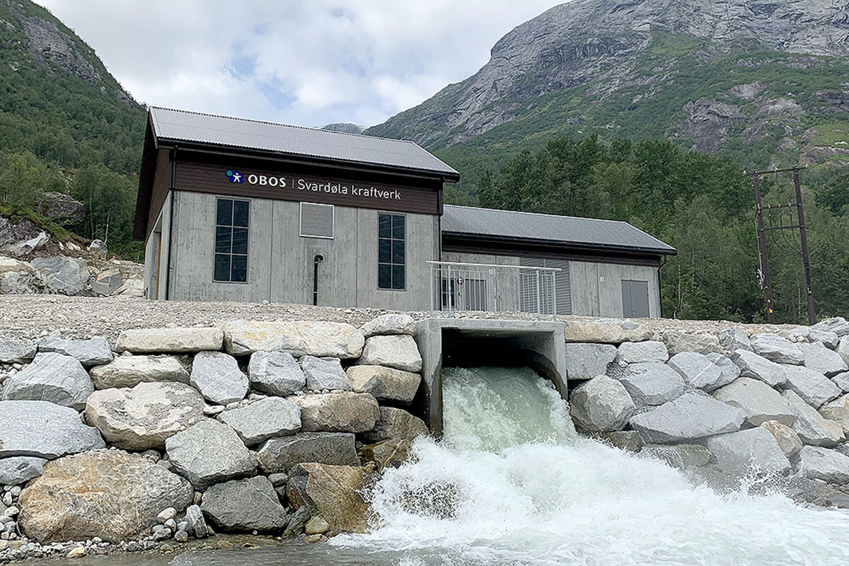Svardøla vannkraftverk